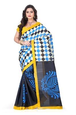 Vastrakala Printed Fashion Art Silk Sari