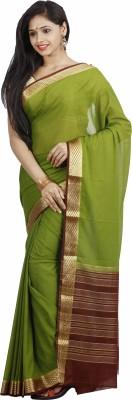 nalliee Plain Mysore Silk Sari