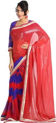 Vandanaraj Printed Bandhani Chiffon Sari