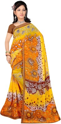 Reena Creation Printed Fashion Georgette Sari