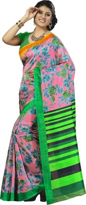 Krutika Printed Fashion Cotton Sari