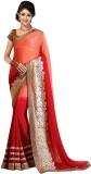 Divy Embriodered Fashion Georgette Sari ...