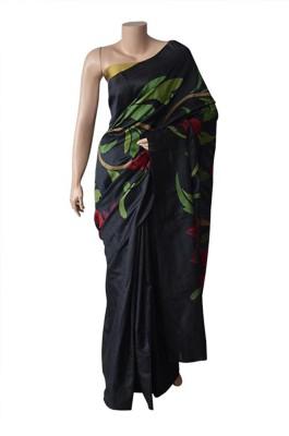 BEAUVILLE VAIIBAVAM Woven Fashion Jute Sari