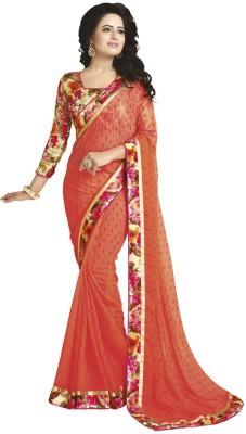 Vatsal Silk Mills Printed Fashion Pure Georgette Sari