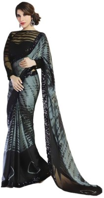 T Zone Fashion Printed Fashion Georgette Sari