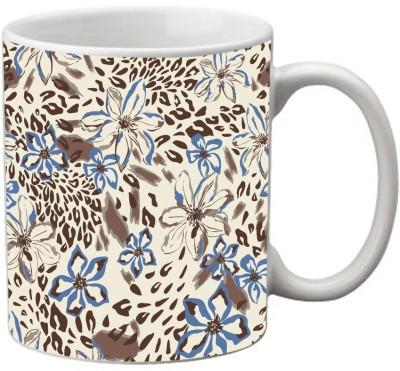 meSleep Flower MU-20-40 Ceramic Mug