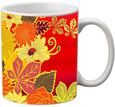 meSleep Flower MU-20-19 Ceramic Mug