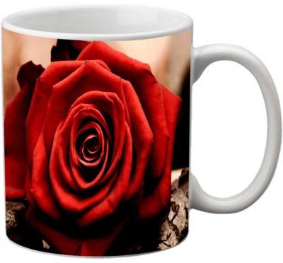 meSleep Red Rose MU-20-58 Ceramic Mug