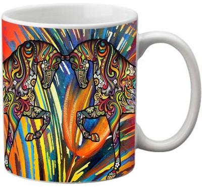 meSleep Horse MU-20-10 Ceramic Mug