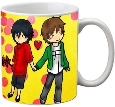 meSleep Love Couple MU-20-01 Ceramic Mug
