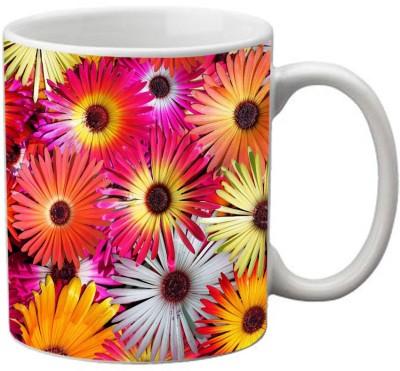 meSleep Flower MU-20-20 Ceramic Mug