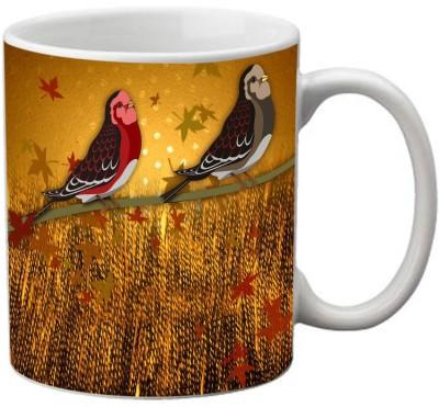 meSleep Bird MU-20-26 Ceramic Mug