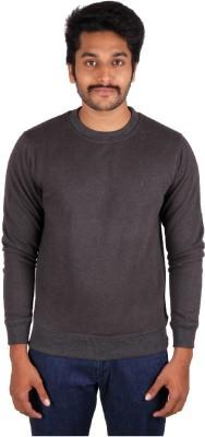 Indian Terrain Solid Men's Round Neck T-Shirt