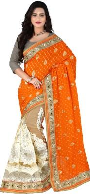 J D S Fashion Self Design Fashion Handloom Net Sari