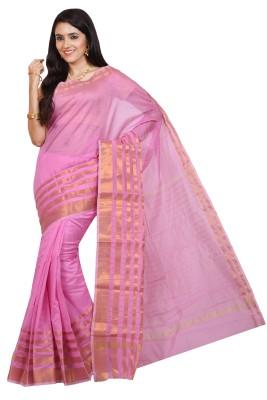 Nilesh Fab Plain Banarasi Handloom Banarasi Silk Sari