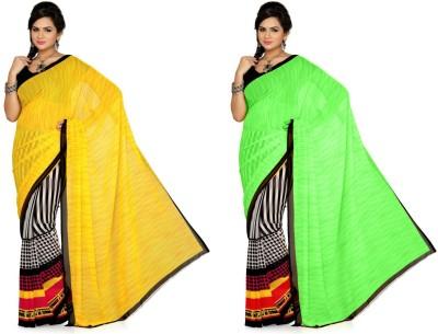 Fashion Tadka Printed Daily Wear Georgette Sari