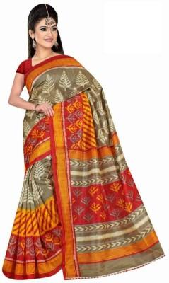 Shoppyzip Printed Bhagalpuri Art Silk Sari