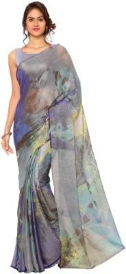 Ligalz Printed Daily Wear Brasso Sari