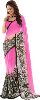 Brijraj Printed Fashion Georgette Sari