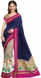 Sunita Floral Print Mysore Printed Silk ...