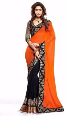 Shayon Embriodered Fashion Georgette Sari
