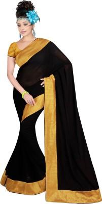 yanatextile Embriodered Daily Wear Georgette Sari