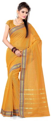 Mrsaree Self Design Fashion Handloom Cotton Sari