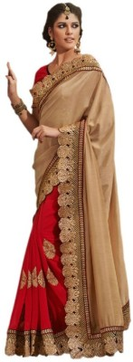 Lime Fashion Geometric Print Fashion Handloom Art Silk Sari