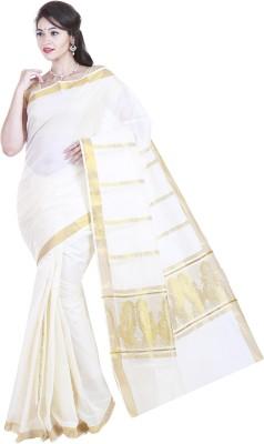 SriSyndicate Woven Fashion Cotton Sari