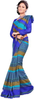 Chirmangal Solid Fashion Jute Sari