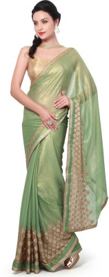 Kalki Self Design Fashion Chiffon Sari