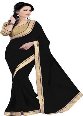 Redqueen Fashion Self Design Bollywood Georgette Sari