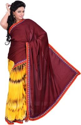 Madhuban Self Design, Printed Fashion Synthetic Georgette Sari