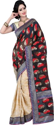 Deal Fashion Self Design Fashion Jacquard Sari