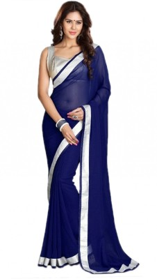 Styloce Printed Bollywood Georgette Sari