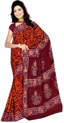 Thelibazz Printed Fashion Cotton Sari