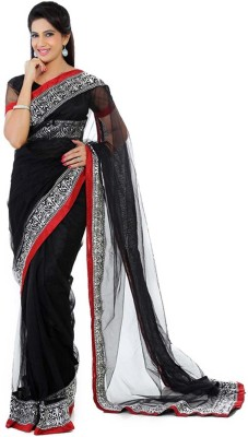 EthnicPark Self Design Fashion Handloom Net Sari