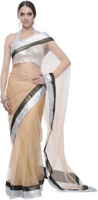 Aarohii Solid Bollywood Net Sari