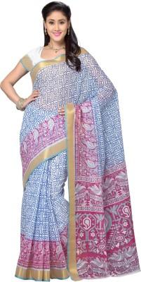 Deepika Saree Printed Gadwal Cotton Sari