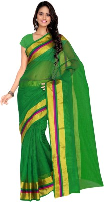 7 Colors Lifestyle Solid Daily Wear Net Sari