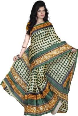 Sheryl Trendz Polka Print Fashion Art Silk Sari