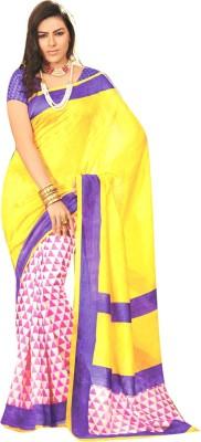 Diva Divine Printed Fashion Silk Sari