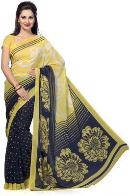 Ethnicup Printed Bollywood Chiffon Sari
