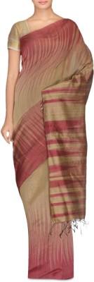 Rudrakshhh Dhakai Woven Ikkat Handloom Silk Sari