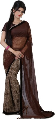 Bunny Sarees Printed Bollywood Georgette Sari