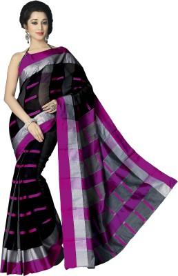 Signature Fashion Checkered Daily Wear Cotton Sari