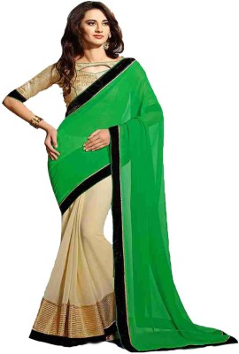 Fashion On Sky Embriodered Fashion Georgette Sari