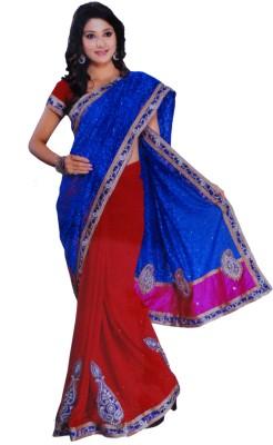 Sonakshi Creation Self Design Fashion Brasso Sari