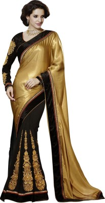 Thanvi Fashion Embriodered Bollywood Georgette Sari