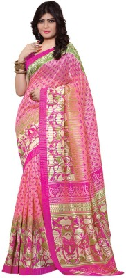 G Creation Printed Kanjivaram Silk Sari